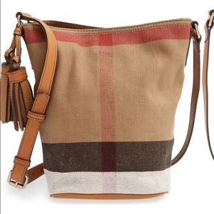 "Burberry Brit ""Mini Ashby"" Canvas bag"